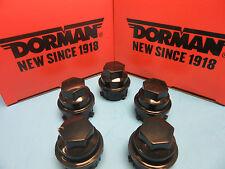 Set 5 Wheel Nut Cover Replaces GM OEM# 9593028 for Buick Chevy GMC Pontiac Black