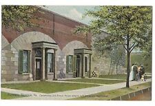 CASEMATES PRISON HOUSE Jeff Davis Fortress Monroe Virginia Postcard VA  Leighton