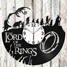 The Lord of the Rings Vinyl Wall Clock Made of Vinyl Record Original gift 2097