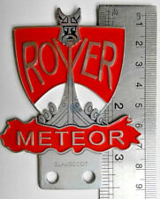 VINTAGE LAND ROVER METEOR CLUB badge DEFENDER FOR SALE  CLASSIC series 1 2 3 a