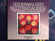 Seidenmalerei Buch mit Vorlagen - Blütenzauber