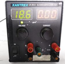 Xantrex LX20-3 Dual Output DC Power Supply, 2x (0-20V, 3A) [Ori]