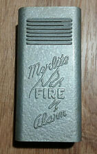 Vintage Merlite Fire Alarm, battery operated, tin, Steampunk, Industrial Decor