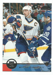 1996-97 Leaf #140 Wayne Gretzky St. Louis Blues