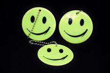 2x Kinder-reflektor Anhänger Reflektor Sicherheit Kind Smiley Fußgänger Gesicht