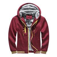 Details about  /AACA Hoodie Men/'s Sweatshirts Red Hooded Drawstring Wrinkless College