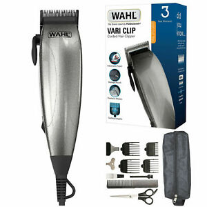 Wahl complete corded barber hair clippers haircut head shaver trimmer set new