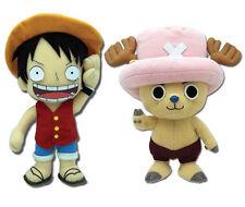 One Piece Anime (Set of 2) - Tony Chopper & Monkey D. Luffy GE Stuffed Plush
