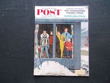 1959 JANUARY 31 THE SATURDAY EVENING POST MAGAZINE - ILLUSTRATED COVER - SP 2214