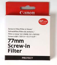 Canon 77mm UV Filter camera accessory