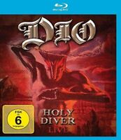 DIO - HOLY DIVER LIVE (BLURAY) EAGLE VISION  BLU-RAY NEUF