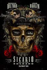 SICARIO DAY OF THE SOLDADO 2018 Advance Teaser Original Promo Mini Movie Poster