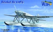 Valom 1/72 Model Kit 72111 Heinkel He-119V-5 float plane