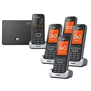 Gigaset SL450A GO Premium Cordless Phone with Answer Machine 5 Handsets
