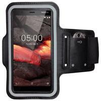 Nokia 5.1 Sportarmband Fitness Armband Jogging Hülle Tasche Armbinde Laufhülle