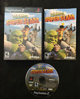Shrek SuperSlam — Complete! Manual Included! (Sony PlayStation 2, ps2, 2005)