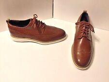 Cole Haan Mens Wingtip Oxfords British Tan Size 8.5 M  C25536