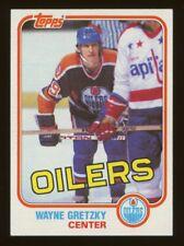 1981 Topps Hockey #16 Wayne Gretzky 3rd year Edmonton Oilers HOF NM