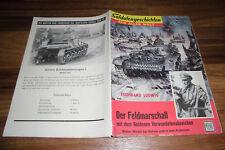 SOLDATENGESCHICHTEN 67 / 1959 -- der FELDMARSCHALL mit GOLDENEN VERWUNDETENABZ.