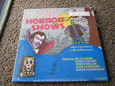 THE GREAT RADIO - HORROR SHOWS 3 LP BOX SET SEALED LUGOSI KARLOFF WELLS