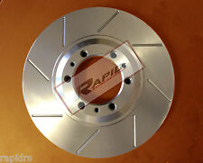 MINI COOPER S 1.6 DISC BRAKE ROTORS SLOTTED PERFORMANCE FRONT PAIR 276mm