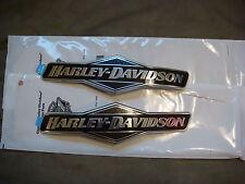 Harley Skull Fuel Tank Emblems Street Glide XL VROD Dyna Road FLHX Fat Bob