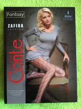 Conte elegant ZAFIRA Pantyhose. Sz 4. Color Mauve(pale purple).