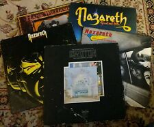 5 LP LOT-LED ZEPPELIN,NAZARETHx3,HANK WILLIAMS JR-ALL ORIGINAL & GOOD CONDITION