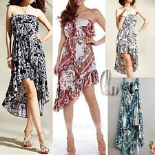 Asymmetrical Hem Summer/Beach Dresses