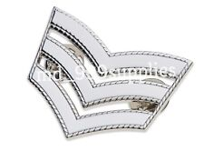 2 x Sergeant Roped Stripes/Chevrons - Police,St Johns,Ambulance,Security & Army