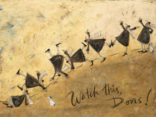 Sam Toft - Watch This, Doris! - Ready Framed Canvas 30x40cm