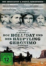 JOHNNY CASH - DOC HOLLIDAY UND DER HÄUPTLING GERONIMO  DVD NEU