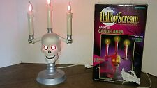 Hallowscream Haunted Candelabra 1994 Trendmasters Halloween flicker bulbs