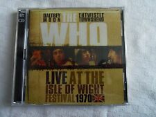 CD  THE WHO  LIVE AT THE ISLE OF WIGHT FESTIVAL 1970