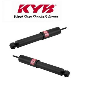 For Ford E150 Econoline Club Wagon Set of 2 Rear Shock Absorbers KYB 344369