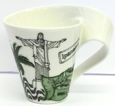Villeroy & Boch Wave Mug Caffé Rio de Janeiro  Brazil Germany 1748 Series NEW