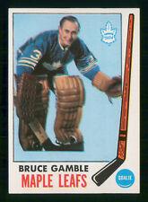 BRUCE GAMBLE 1969-70 TOPPS 1969-70 NO 44 NRMINT+ 39727