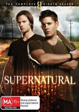 Supernatural Complete Season 8 TV Series Fantasy DVD R4 Good