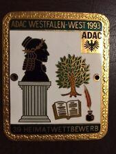 ADAC Heimatwettbewerb, Westfalen, Autoplakette Kühlerplakette Car Badge Plakette