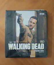 THE WALKING DEAD SEASON 2  BINDER AND CARDS FROM SEASON 3 & 4,  230 TOTAL CARDS