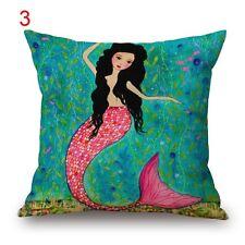 BN MERMAID decorative cushion covers LINEN COTTON