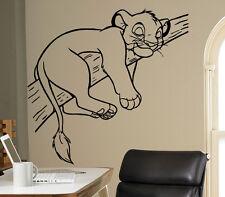 Lion King Simba Vinyl Decal Disney Wall Vinyl Sticker Home Interior Kids Room 16