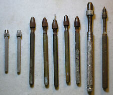 9 Vintage Watchmaker Jeweler Pin Chuck Vise Jewelry Repair Hand Tool Machinist