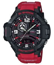 Casio G-Shock Analogue/Digital Gravitymaster Mens Black/Red Watch GA-1000-4BDR