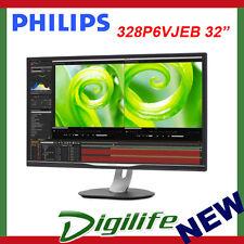 """Philips 328P6VJEB 31.5"""" 4K VA LCD Ultra Wide Colour LED Monitor"""
