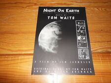 Tom Waits-Night on Earth/BMG PROMO-Facts (din-a-4) 1991