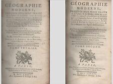 Géographie moderne précédée d'un traité de la Sphère par Nicolle de La Croix