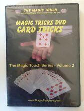 the magic touch volume 2 MAGIC TRICKS DVD / CARD TRICKS    DVD NEW