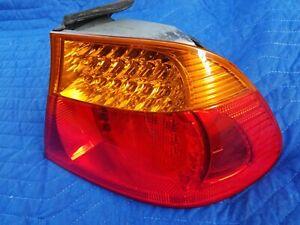 BMW E46 OEM M3 323ci 325ci 330ci Coupe Rear RIGHT LED Tail Light TESTED 03-06 #7
