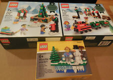 3-Lego Holiday Christmas Sets 40262 40263 & 853663 New in Sealed Boxes